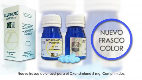 Oxandroland - Oxandrolona - Landerland - 100comp.