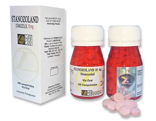 Stanozoland - Estanozolol Oral 100 comp.